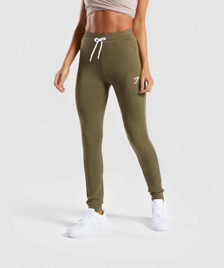 Gymshark Solace Bottoms - Khaki 1