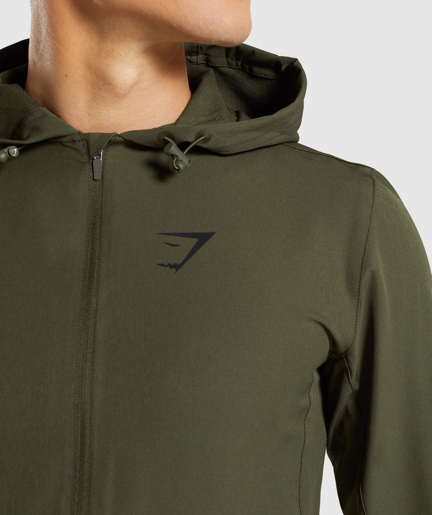 Gymshark Stealth Pullover - Woodland Green 6