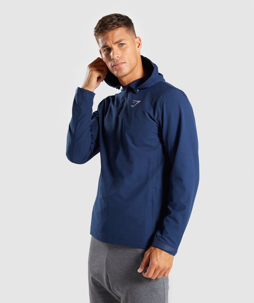 Gymshark Stealth Pullover - Sapphire Blue 1