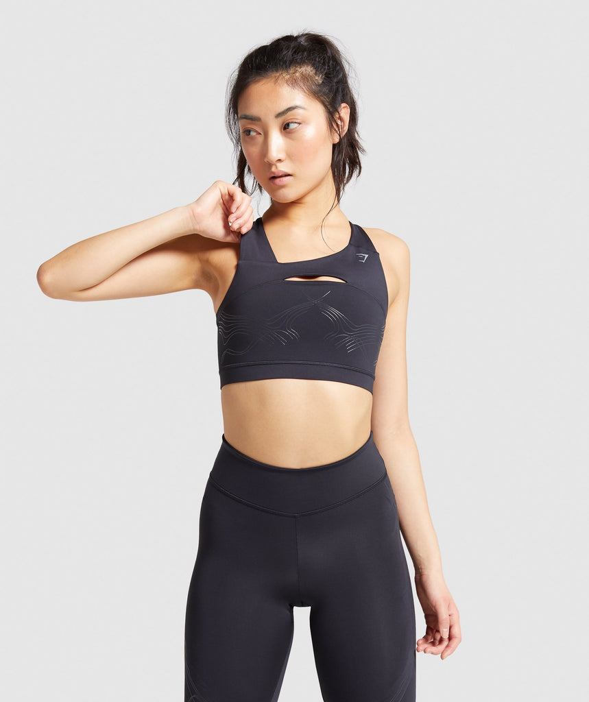 Gymshark Technical Sports Bra - Black 1
