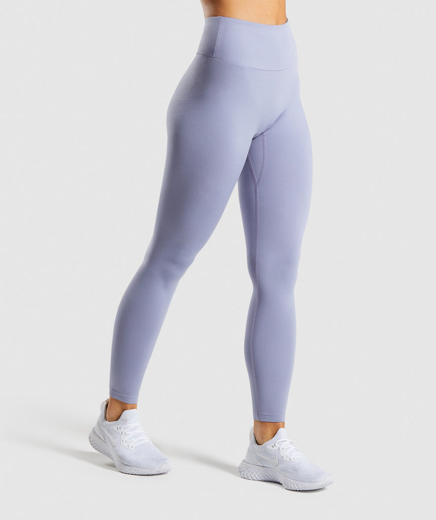 Gymshark Training Leggings - Blue 1
