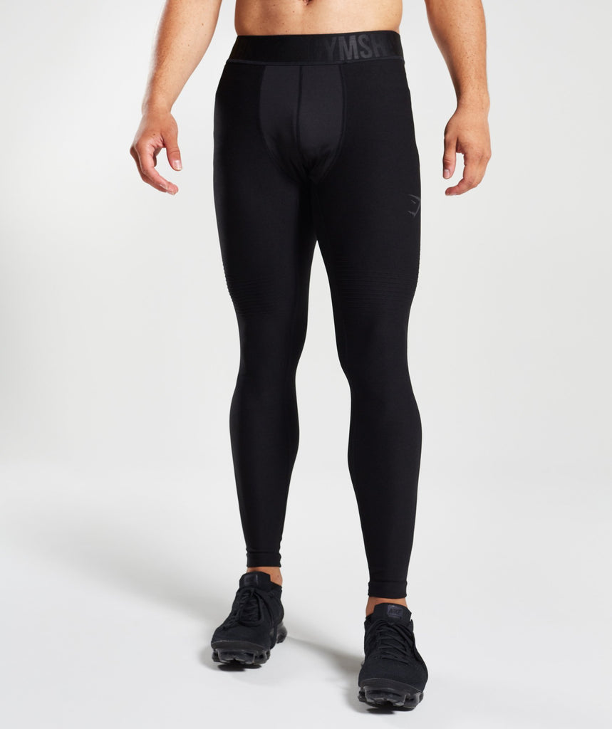 Gymshark Tech Leggings - Black 1