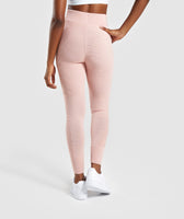 Gymshark Time Out Knit Joggers - Blush Nude 8