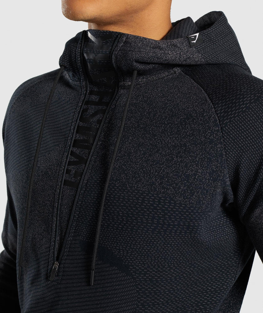 Gymshark Ultra Jacquard Pullover - Charcoal 5