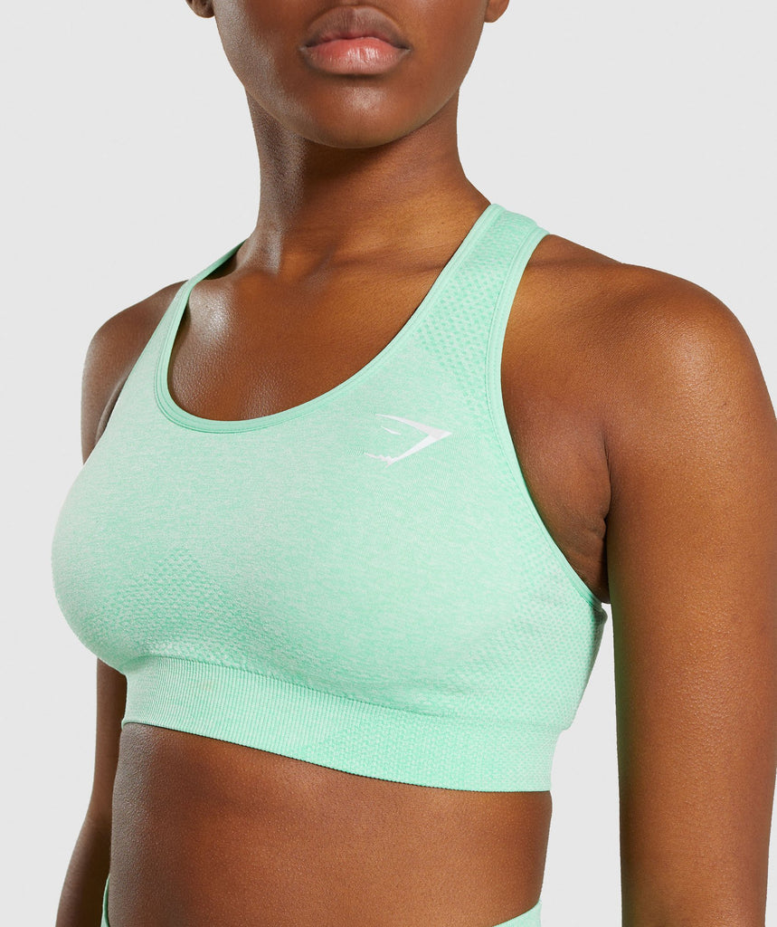 Gymshark Vital Seamless Sports Bra - Green 5