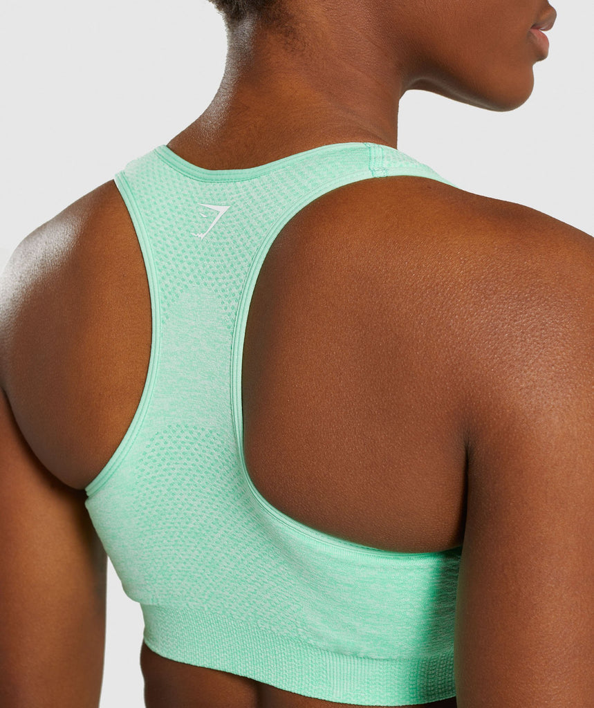 Gymshark Vital Seamless Sports Bra - Green 6