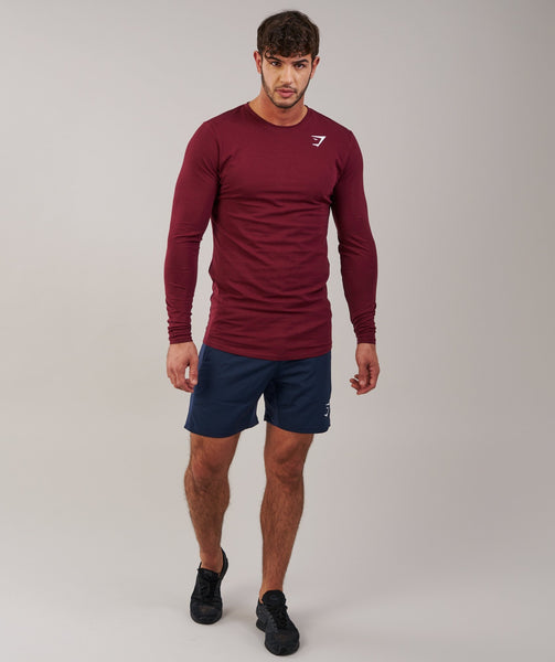 Gymshark Ark Long Sleeve T-Shirt - Port 3