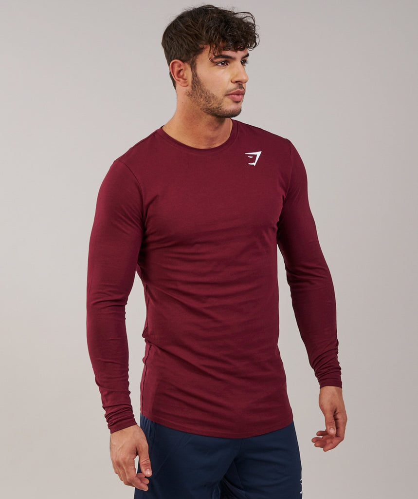 Gymshark Ark Long Sleeve T-Shirt - Port 5