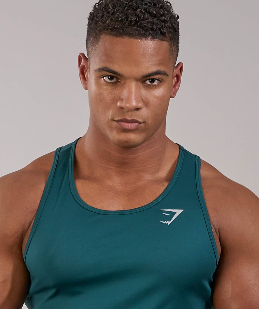 Gymshark Ability Tank - Forest Green 5