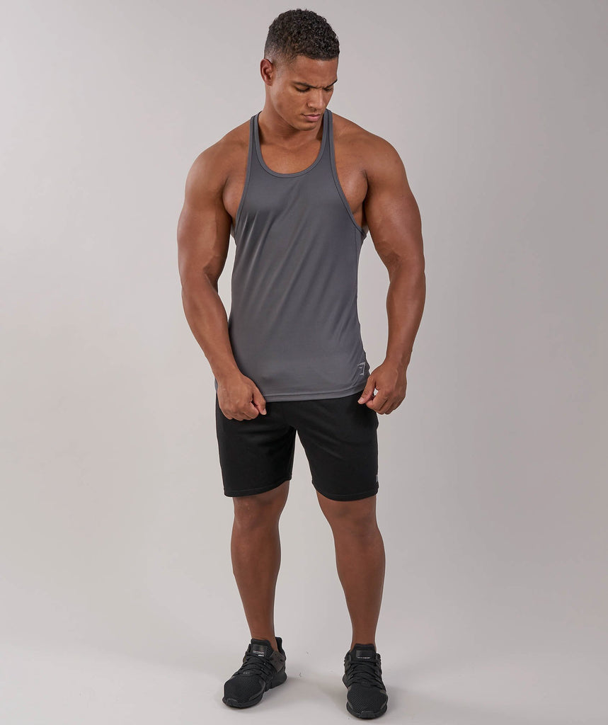 Gymshark Ability Stringer - Charcoal 4