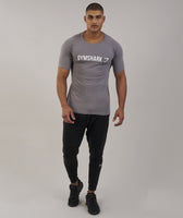 Gymshark Apollo T-Shirt - Slate/White 11