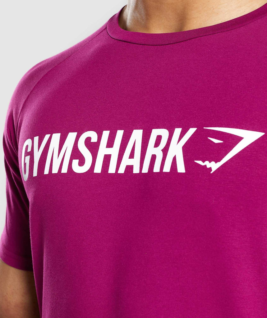 Gymshark Apollo T-Shirt - Purple 5