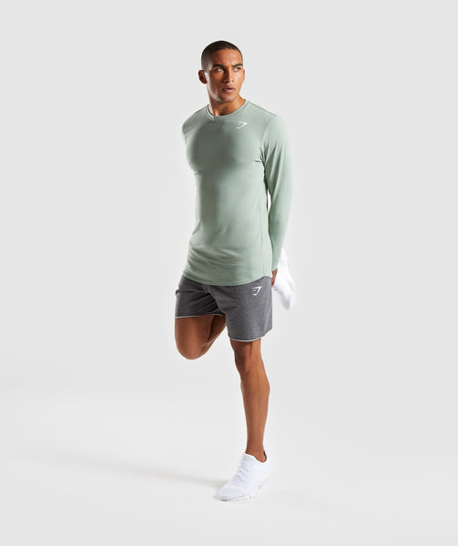 Gymshark Ark Long Sleeve T-Shirt - Pale Green 3