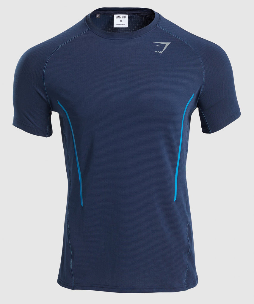 Gymshark Contemporary T-Shirt - Dark Blue 1