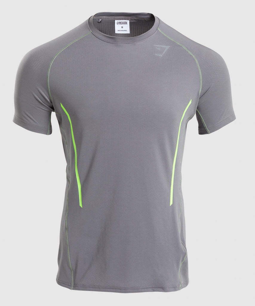 Gymshark Contemporary T-Shirt - Smokey Grey 1