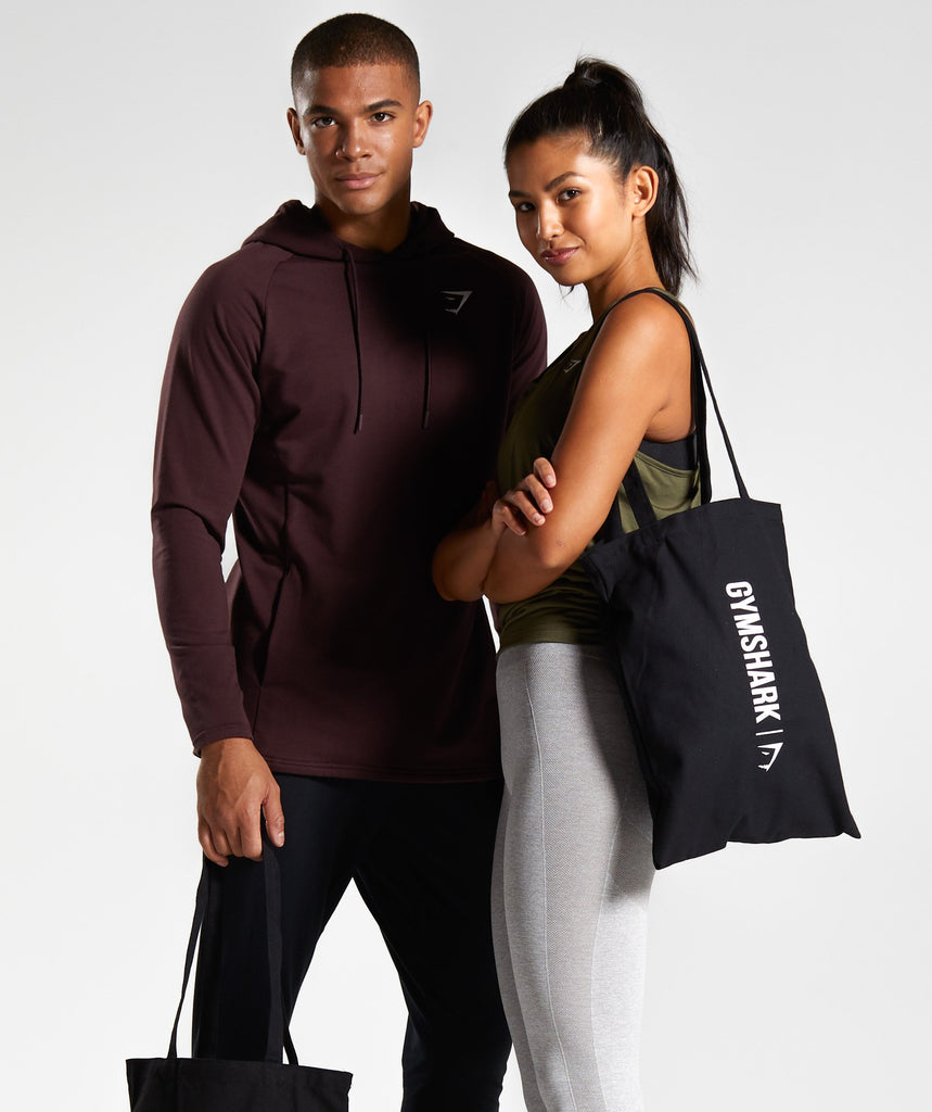 Gymshark Canvas Shopper Bag - Black 1