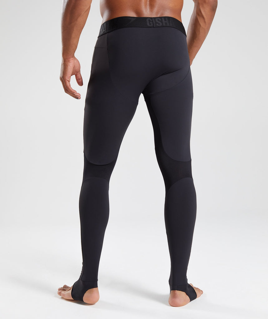 Gymshark Selective Compression Stirrup Leggings  - Black 2