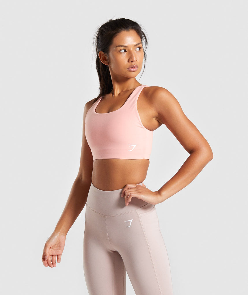 Gymshark Dreamy Sports Bra - Peach 1