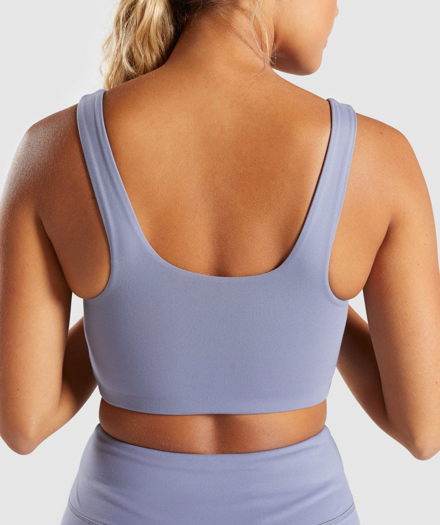 Gymshark Dreamy Sports Bra - Steel Blue 6