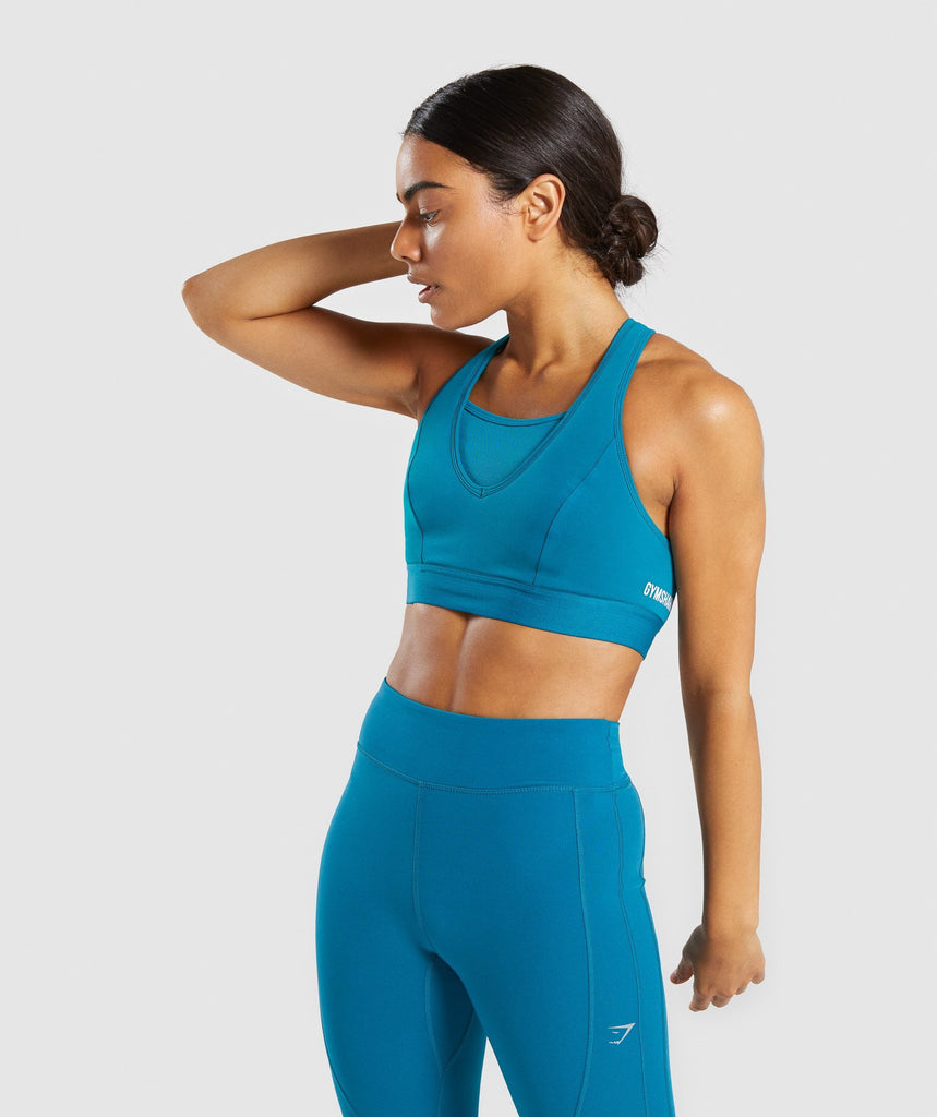 Gymshark Endurance Sports Bra - Deep Teal 1