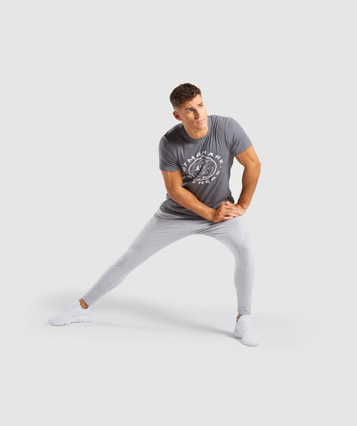 Gymshark Legacy T-Shirt - Smokey Grey 3