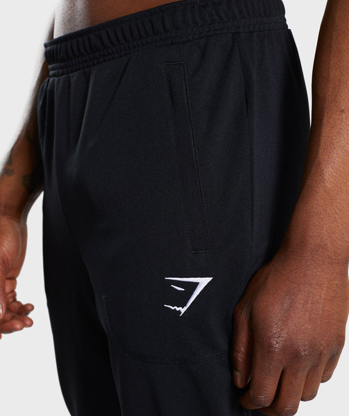 Gymshark Flatlock Bottoms - Black 4