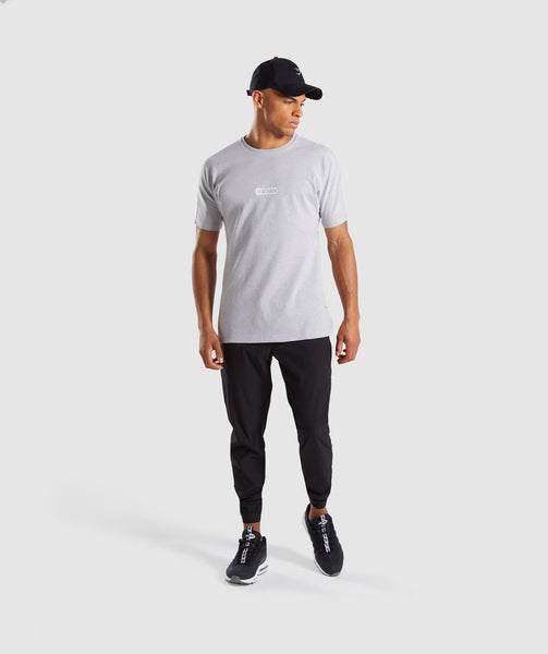 Gymshark Fresh T-Shirt - Light Grey Marl 3