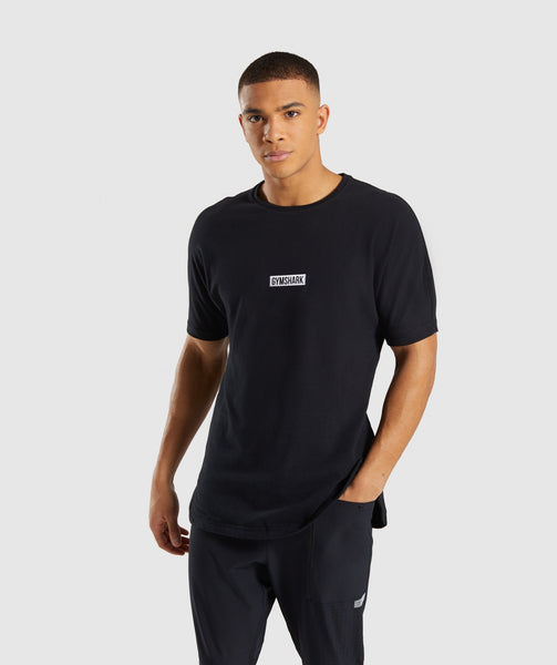 Gymshark Fresh T-Shirt - Black 4
