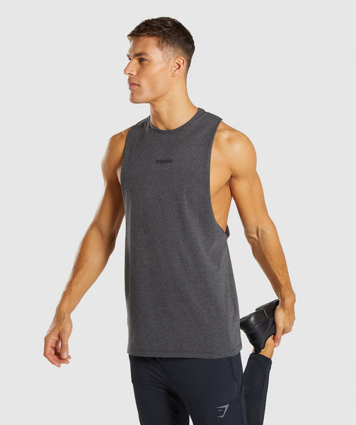 Gymshark Linear Tank - Charcoal Marl 4