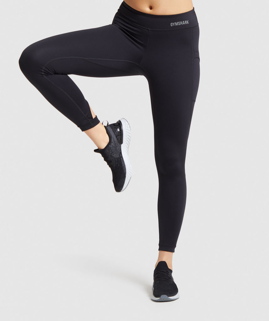 Gymshark Illumination Leggings - Black 1