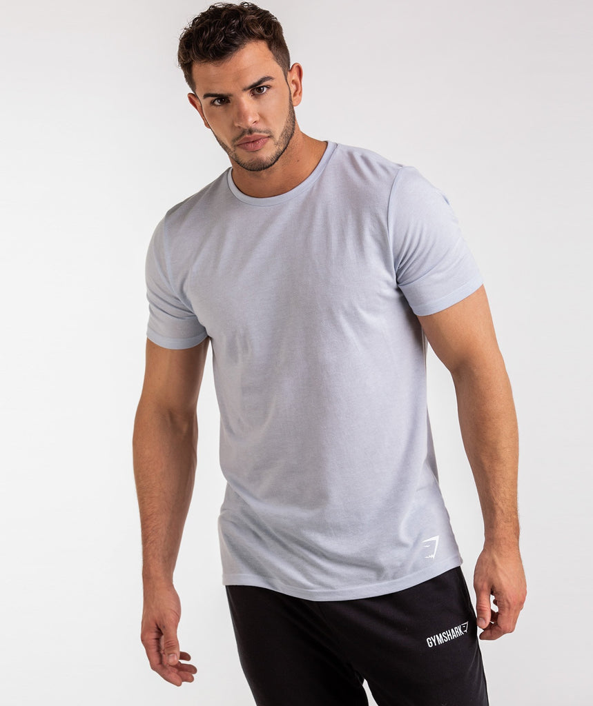 Gymshark Aerate T-Shirt - Clear Water 6