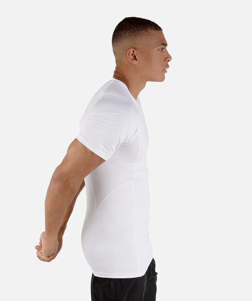 Gymshark Element Baselayer Short Sleeve Top - White 2
