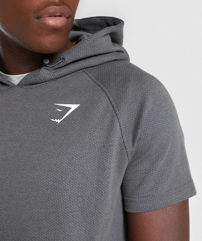 Gymshark Jacquard Pullover - Charcoal Marl 5