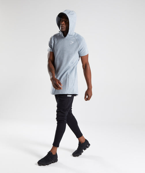 Gymshark Jacquard Pullover - Clear Water Marl 3