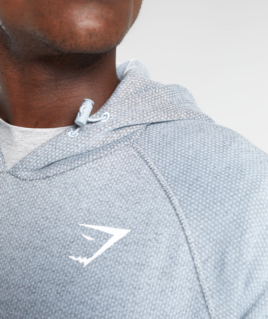 Gymshark Jacquard Pullover - Clear Water Marl 6