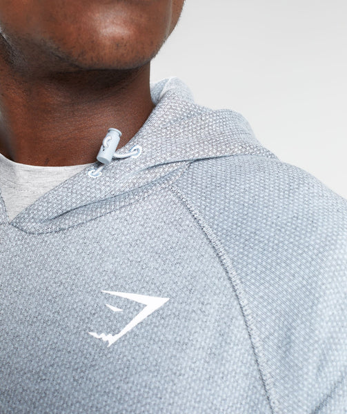 Gymshark Jacquard Pullover - Clear Water Marl 4