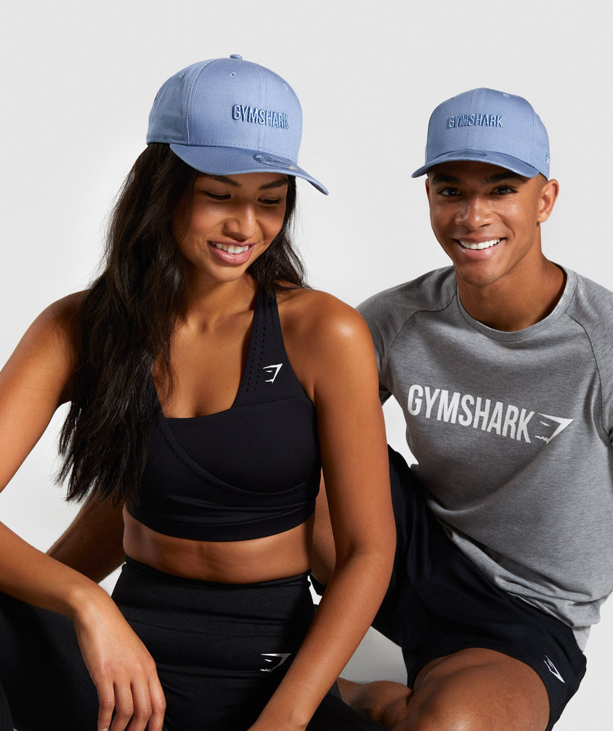 Gymshark New Era Gymshark 9FIFTY - Blue 1