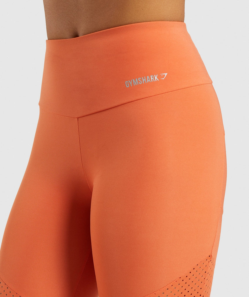 Gymshark Pro Perform Leggings - Burnt Orange 6