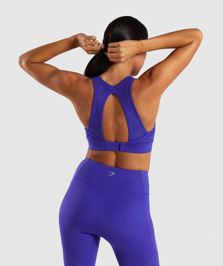 Gymshark Pro Perform Sports Bra - Indigo 2