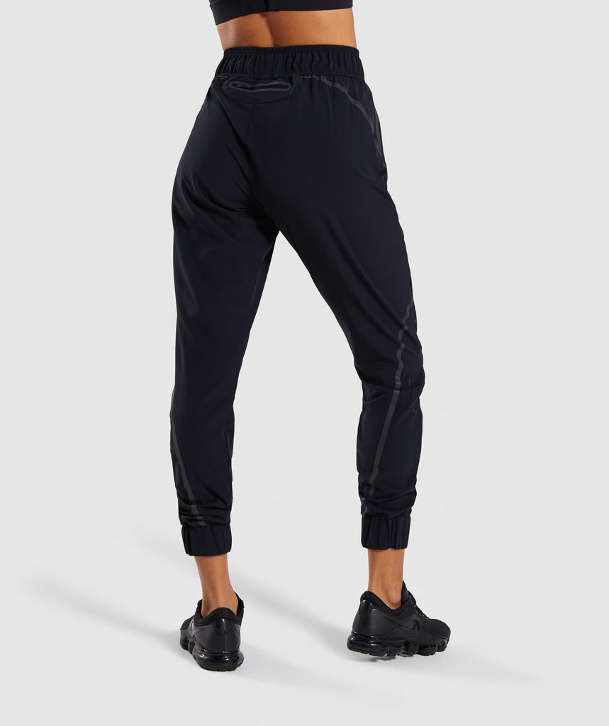 Gymshark Pro Perform Track Bottoms - Black 2