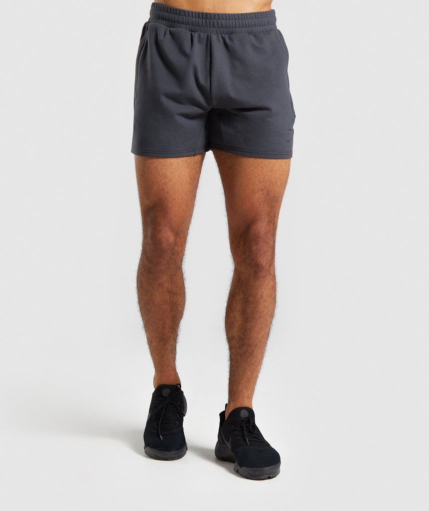 Gymshark Raw Shorts - Grey 1