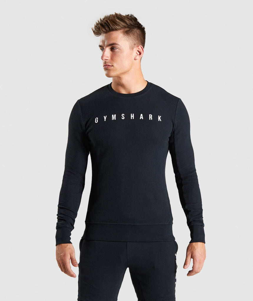 Gymshark Recharge Sweater - Black 1