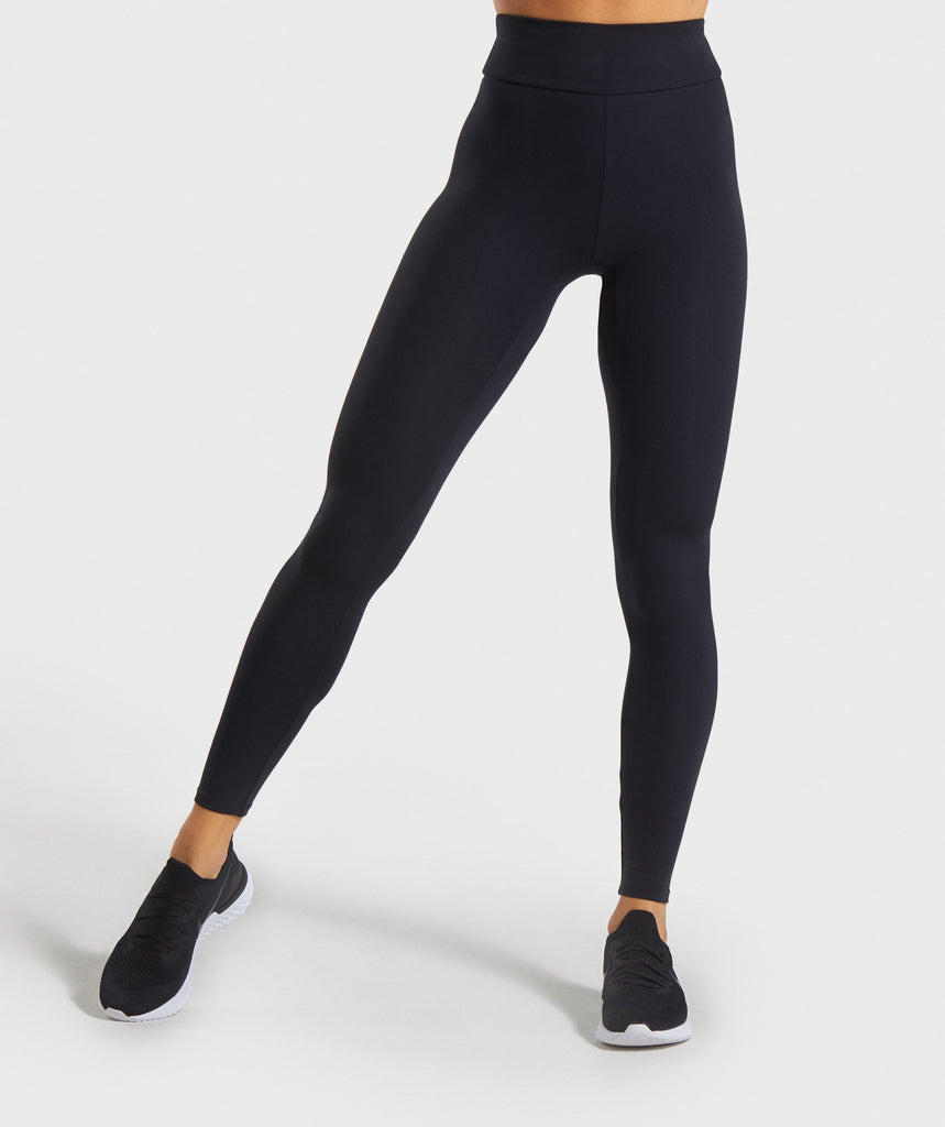 Gymshark Solo Leggings - Black 1
