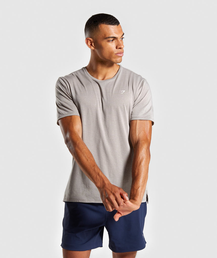 Gymshark Studio T-Shirt - Grey 1