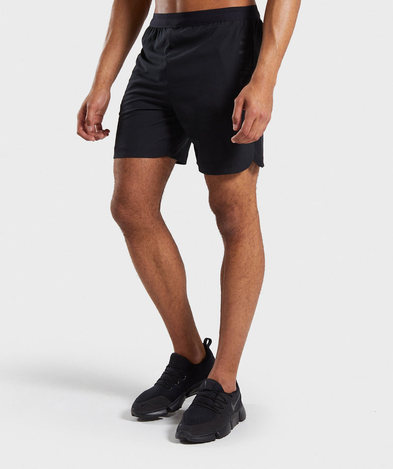 Gymshark Shadow Shorts - Black