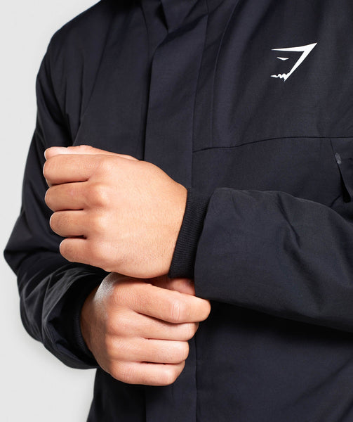 Gymshark Summit Jacket - Black 4