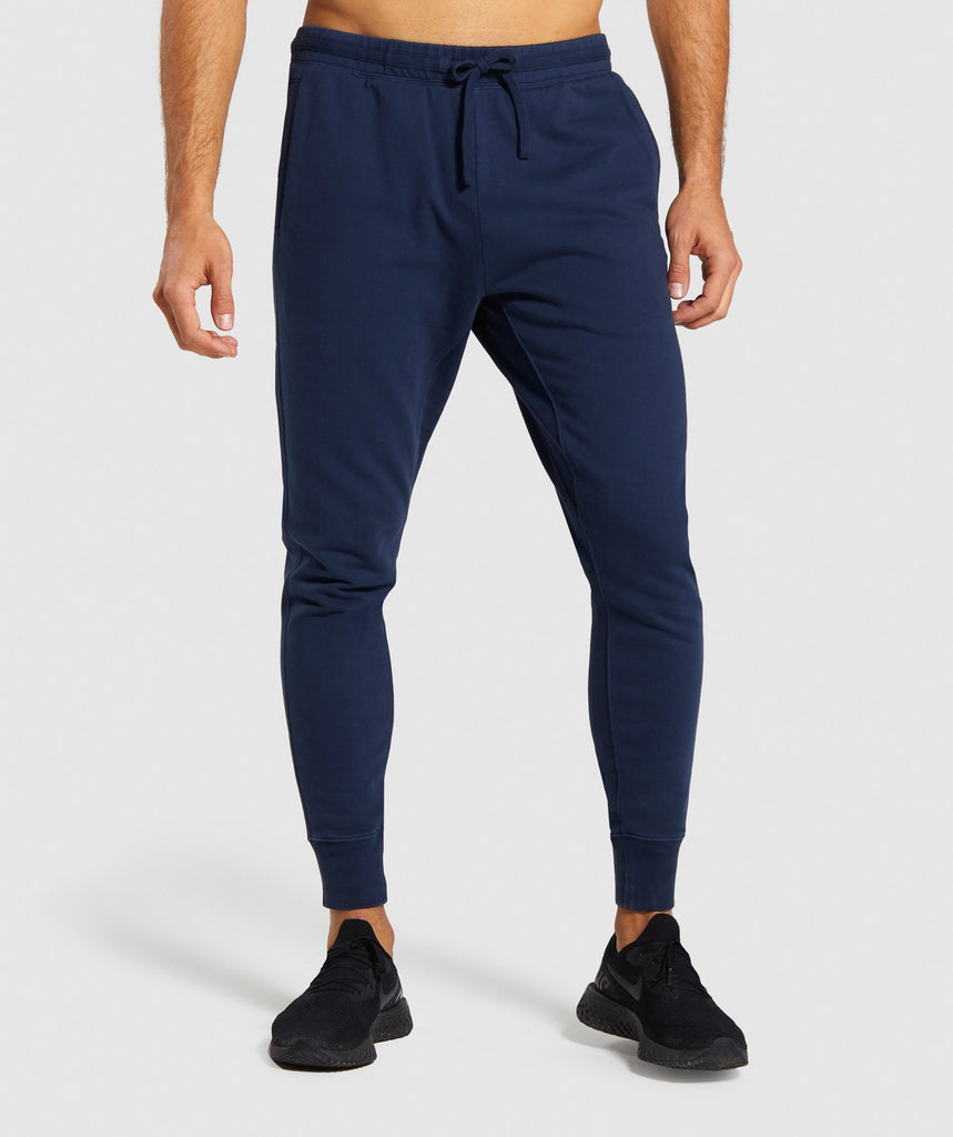 Gymshark Track Joggers - Blue 1