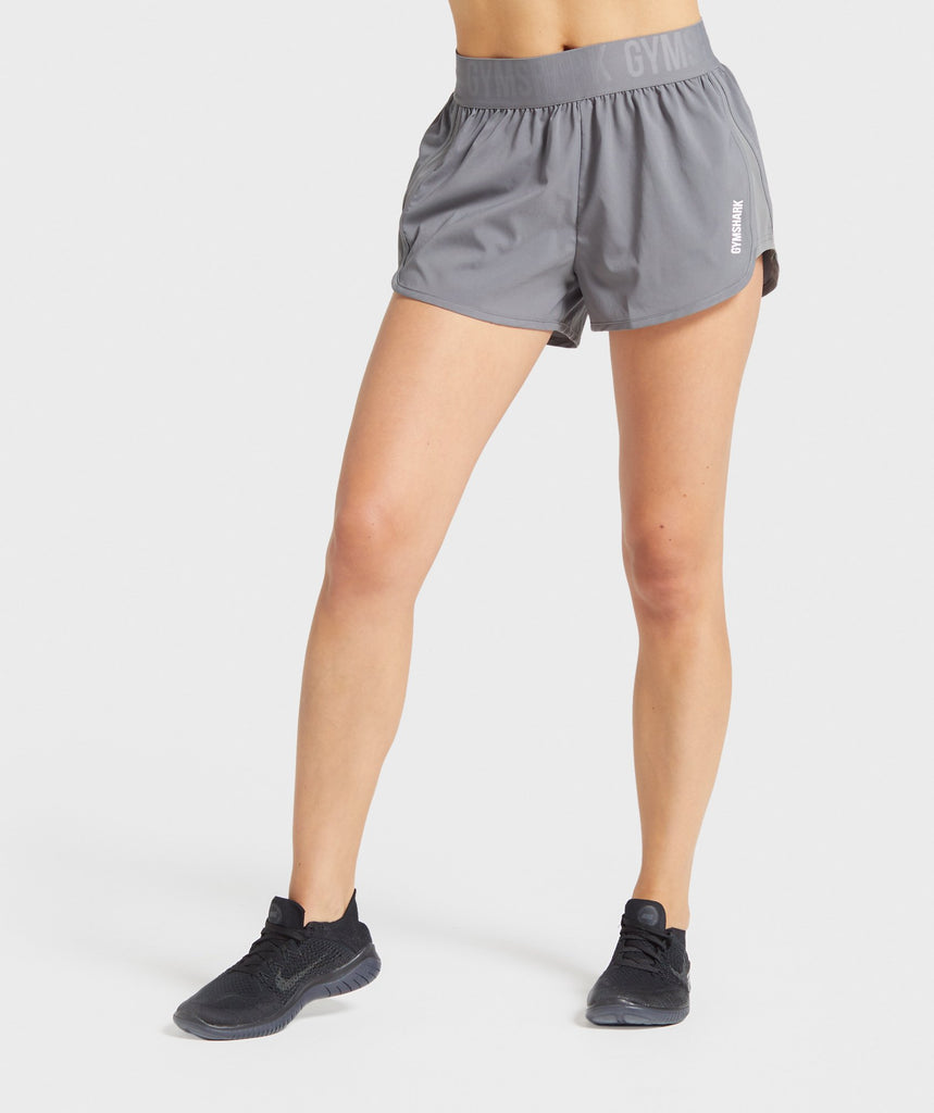 Gymshark Training Loose Fit Shorts - Smokey Grey 1