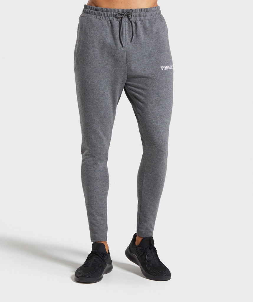 Gymshark Tapered Bottoms - Charcoal Marl 1