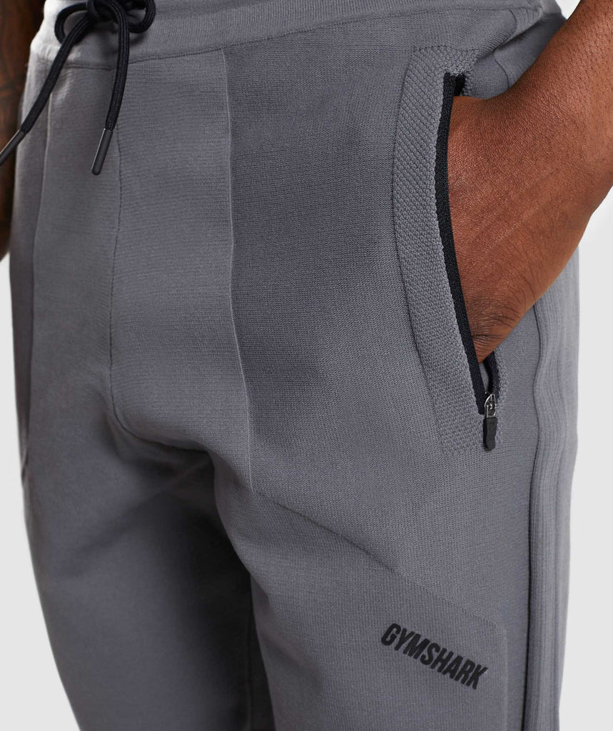 Gymshark True Knit Jogger - Smokey Grey 6
